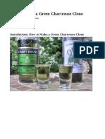 Clone de La Recette de La Chartreuse