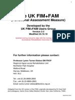 FIMFAM Manual v2.2 Sept 2012