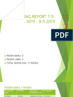 Morning Report 12 Mei 2019