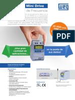 CFW100 Mini Drive - Convertidor de Frecuencia.pdf