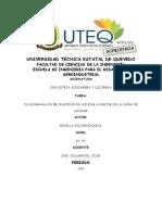 Flujograma Obtención de Elaboracion de Azúcar - Karol Revilla E.
