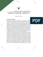 Earle, Rebecca (2010). Nationalism and National Dress in Spanish America