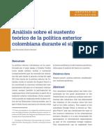 Analisis Politica Colombia