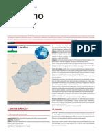 Lesotho Ficha Pais