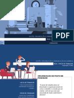 UFCD 0626 - Posto de Trabalho - Organização e Gestão
