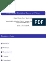 Programação Orientada a Objetos com Python