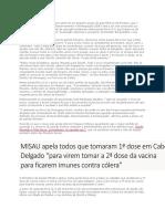 O Governo de Moçambique e as Suas Informações