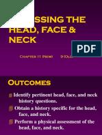 Ch 11 Head, Hand, Face Exam