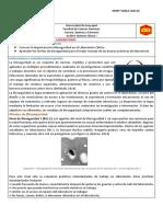 Informe 1 AQC I Niveles de Bioseguridad