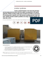 Paralleling Generator Systems - Consulting - Specifying Engineer