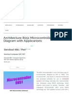 Architecture 8051 Microcontroller and Block Diagram With Applicarions