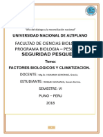 Factores Biologicos y Climatizacion Primera Revision