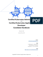 CKA CKAD Candidate Handbook v1.2