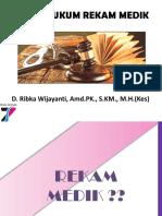 3 Aspek Hukum Rekam Medik