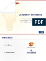 Calibration Excellence Intelligent Application of Smart Technology 111130151117 Phpapp01