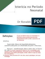 Icterícia Neonatal -Pronto