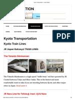 Kyoto Transportation – Kyoto Station