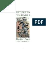 Return to Guatemala