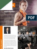 EasyGym Franchise Brochures
