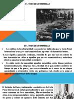 Diapositivas Delito de Lesahumanidad