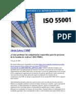 Gestionar Las Competencias Para Los Procesos de ISO 55001