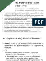 Assessment Revision Qs (12 &24)