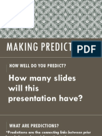 Making Predictions.ppt