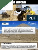 LA ARENA - MATERIALES DE CONSTRUCCIÓN