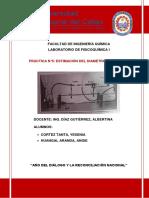 Informe N°5 DIAMETRO MOLECULAR