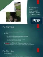 Excavations OSHA Competent Person Course 2
