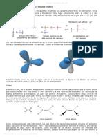 Hibridación Trigonal Sp2_ Enlace Doble