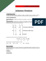 Física Pre Fenómenos Térmicos