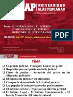 Semana 8 - Interes Legal, Compensatorio, Moratorio y Laboral