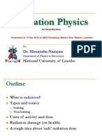 Radiation Physics Lec