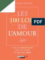 Les 100 Lois de l'Amour de  Richard Templar