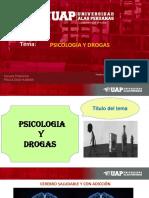 Semana 8 PSICOLOGÍA Y DROGAS