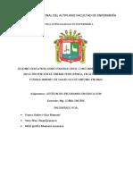 Sesión de Aprendizajecentro Quirurjico 2