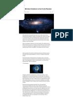 11 of the Weirdest Solutions to the Fermi Paradox - io9 - 2013.pdf