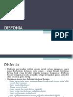 CA Disfonia Dr