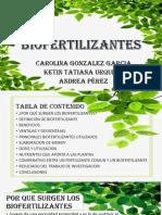 DIAPOSITIVAS BIOFERTILIZANTES