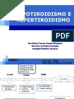 Hipo e Hipertiroid Casos Clinicos