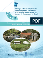Ipea Efficiency and Regulation in the Sanitation Sector in Brazil