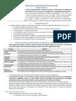 Resumen Ley Acceso a La Información Chile