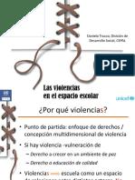 2017 Daniela Truci Las Violencias en El Esoacio Escolar