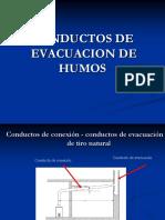 Conductos de Evacuacion de Gases
