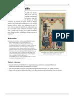 Sombrero Amarillo o Gorro Judío o Judenhut, o Pilleus Cornutus - Edad Media Europea - WKPD