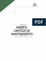 CARTILLA DE MANTENIMIENTO