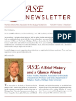 ASE Newsletter Fall 2017 Final