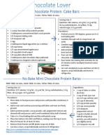 protein bar handout page 1