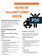 the facts of weight loss diets